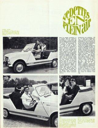 Vedettes en Plein Air 1968