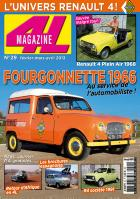 Article in French 4L Magazine no. 29 about Sinpar no. 232