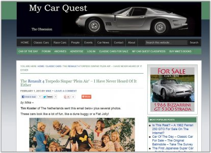 Plein Air on MyCarQuest.com
